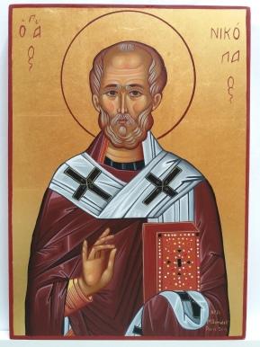 Saint Nicolas - 25x35cm